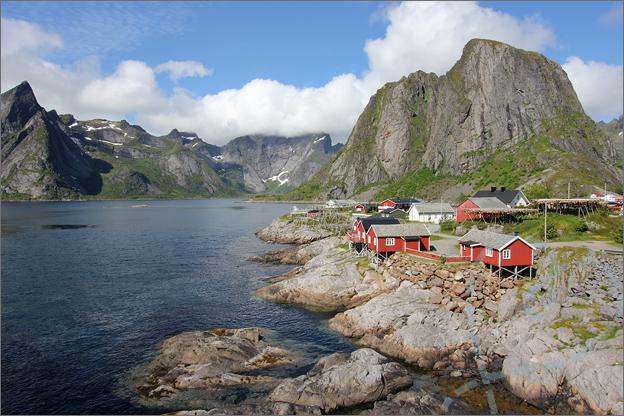 Vakantie verslag Noorwegen uitzicht Hamnoy