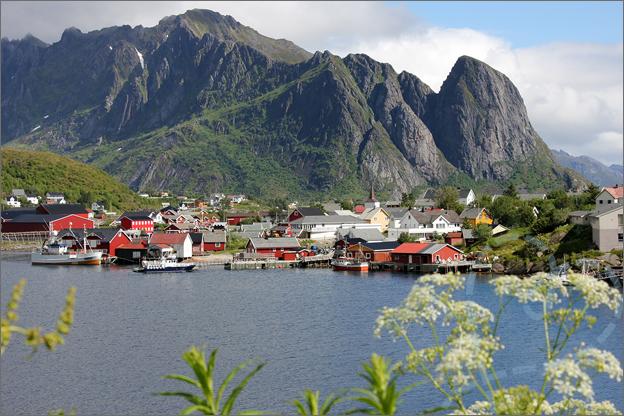 Vakantie verslag Noorwegen uitzicht reine