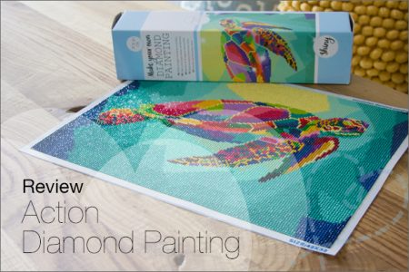 Review: Action Make your own Diamond Painting, 30×40 cm