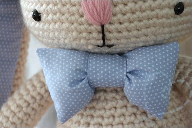 Haken Konijn cory strikje naaien