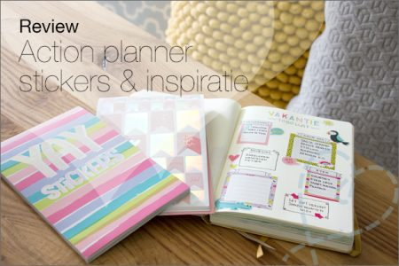 Review: Action planner stickers & inspiratie