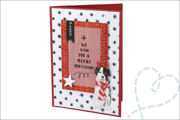 Action decotime goedkoop kaarten maken kerst