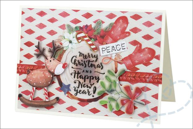 Action decotime kerst knutselen DIY inspiratie