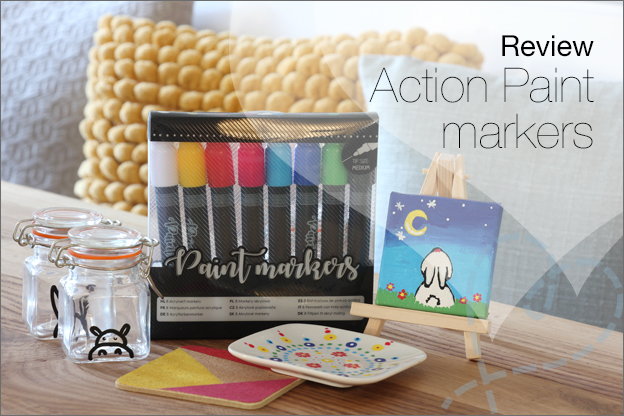 Action review paint markers Acrylverf