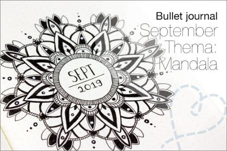 Bullet journal #23: September, thema Mandala's