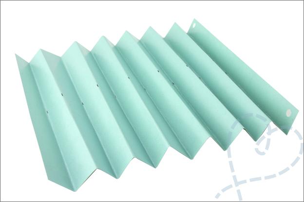 DIY feestslinger vouwen papier makkelijk