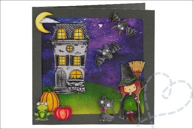 Kaarten Halloween uitleg makkelijk
