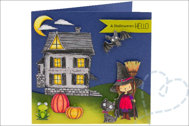 Kaarten Halloween uitnodiging feestje