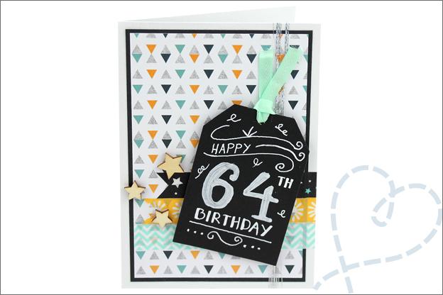 Kaarten maken Action DIY verjaardag