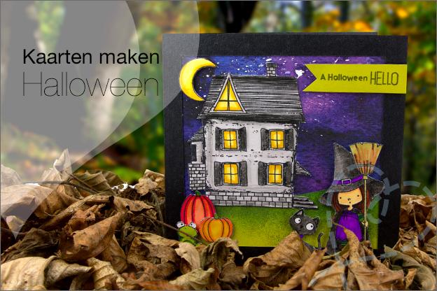 Kaarten maken Halloween DIY uitleg