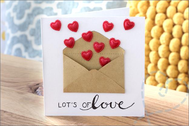 Kaarten maken trouwkaart cadeau envelop geld