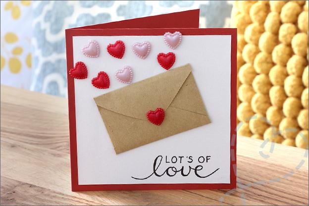 Kaarten maken trouwkaart geld cadeau envelop idee