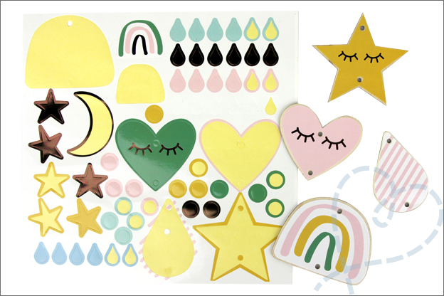Review Kruidvat Manon Tilstra stickers mobiel