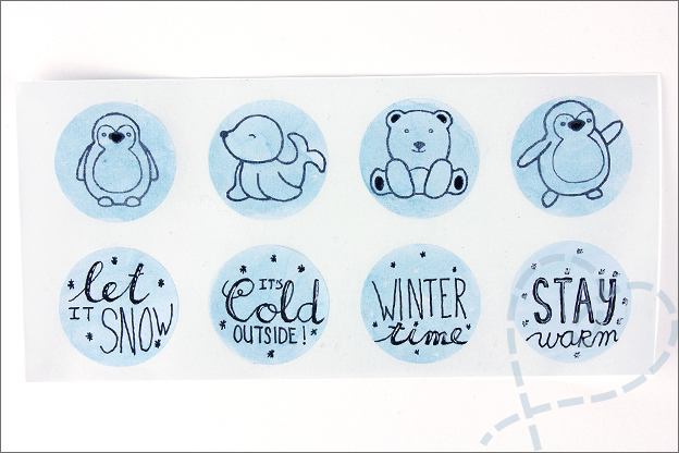 Budgettip DIY stickers maken Action