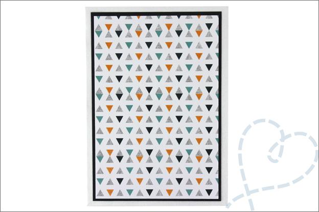 zelfgemaakte kaart basis papierblokken