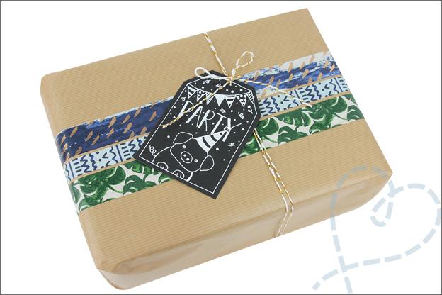 Action washi tape cadeautjes inpakken