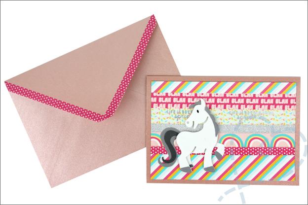 Action washi tape kaarten maken knutselen