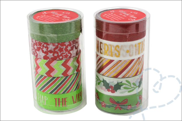 Kerst washi tape Action ideeen DIY inspiratie