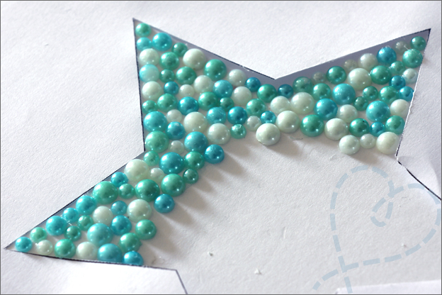 Kaarten maken hobby parels diamond painting