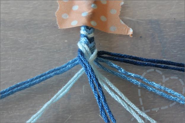 DIY Vriendschaparmbandjes maken uitleg makkelijk