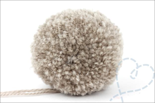 DIY pompons knippen op maat