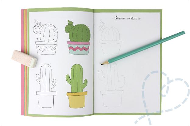 Kruidvat review art journaling natekenen