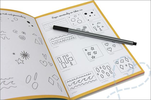 Kruidvat review werkboek art journaling oefening