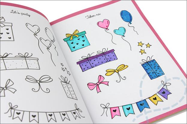 Kruidvat werkboek art journaling oefening