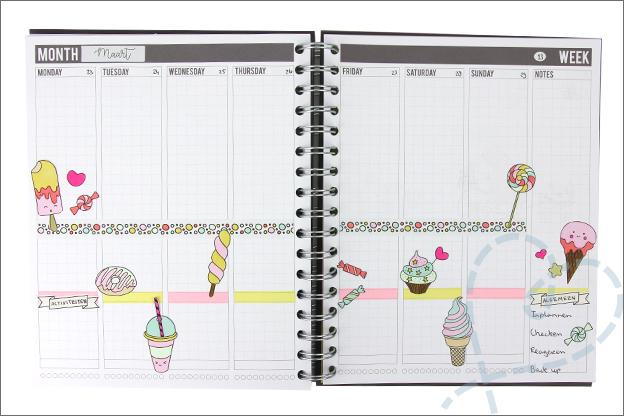 Action decotime kleur knutsel boek inspiratie agenda planner