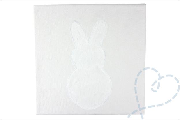 DIY Pasen konijn schilderen Paint markers action