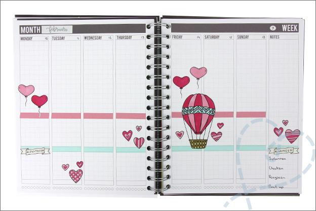 Mascha planner inspiratie week Valentijn