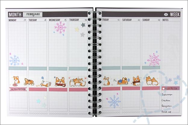 Mascha planner inspiratie week 8 thema honden
