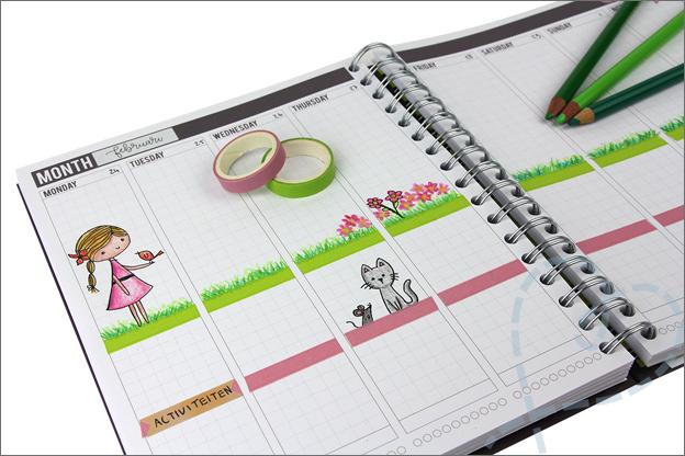 Mascha planner inspiratie week 9 lente