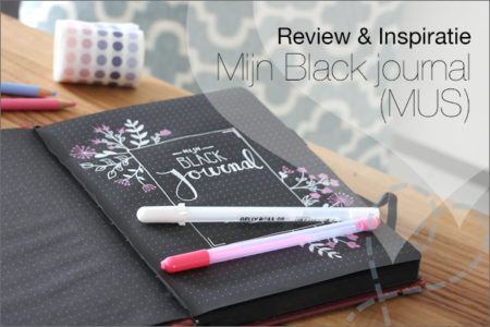 Review & Inspiratie: Mijn Black journal (MUS)