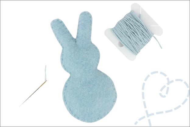 Tutorial Pasen slinger konijntjes festonsteek