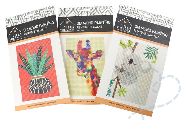 Kruidvat diamond painting verpakking setjes