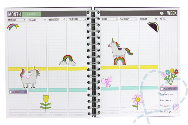 Mascha planner inspiratie week 12 Magic maisy