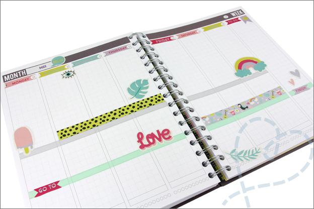 Agenda versieren met stickers van Action