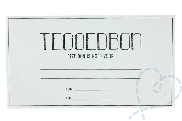 DIY Moederdag basis gratis tegoedbon printable