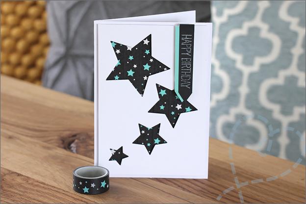 Kaarten maken uitleg sterren