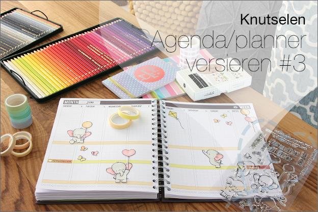 uitleg agenda versieren persoonlijk maken