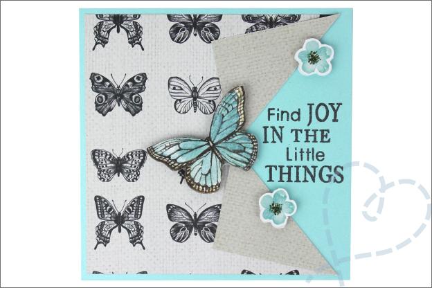 Vouwkaart maken vlinders