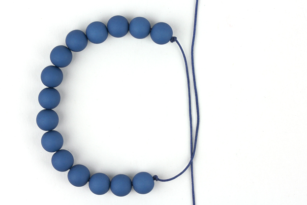 tutorial armband verschuifbare knoop foto