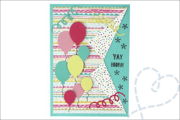 uitleg vouwkaart maken verjaardag