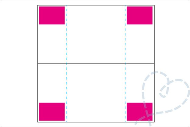 Oneindige kaart maken uitleg stap 3