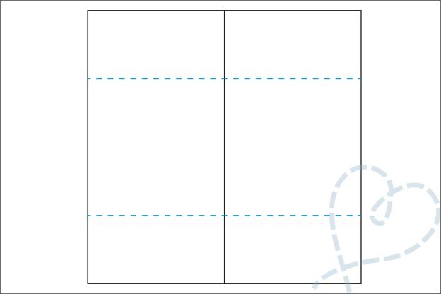 Oneindige kaart maken uitleg stap 4