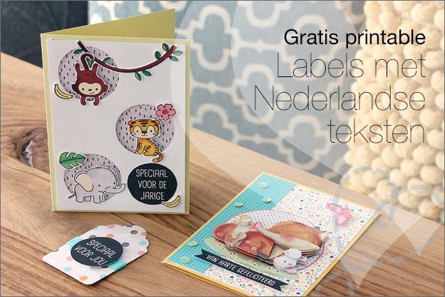 Gratis printable labels nederlands teksten kaarten maken