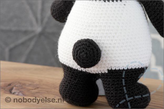 Haken panda uitleg staart