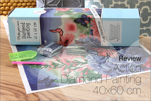 Review_Action Diamond painting 40x60cm groot