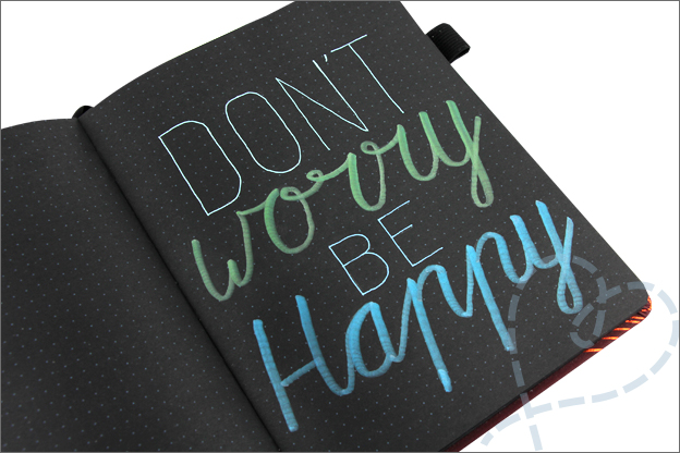 Review bullet journal pennenset quote